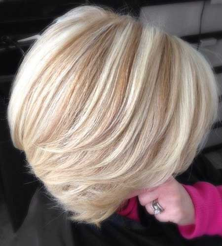 Blonde Casual Short Hairstyles