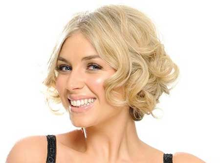 Short Blonde Cuts for Curly Hair