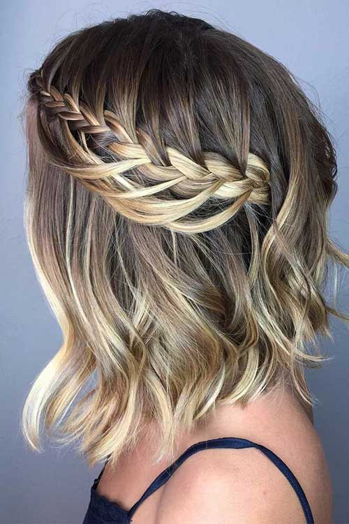 Bob Hairstyles for Bridesmaids