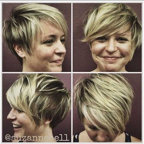 Casual Short Messy Hairstyles