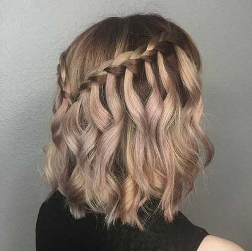 Half Up Hairstyles for Short Hair