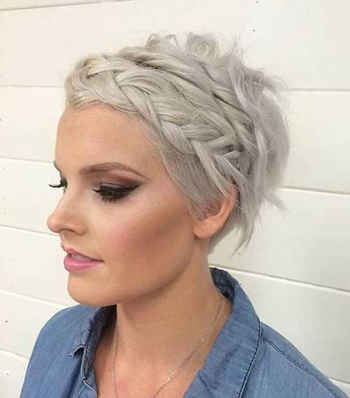 Pixie Cut Bridesmaid