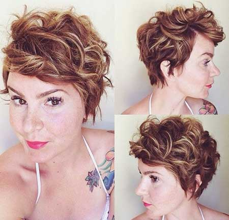 Quick Easy Hairstyles for Short Curly Hair