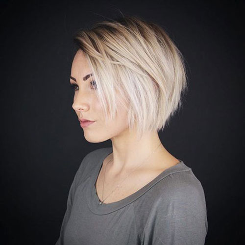 Short Blond Haircuts