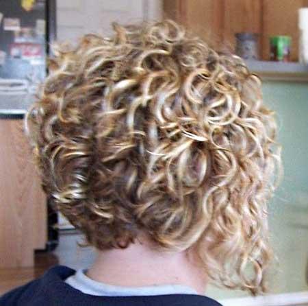 Short Bob Cuts for Curly Hair