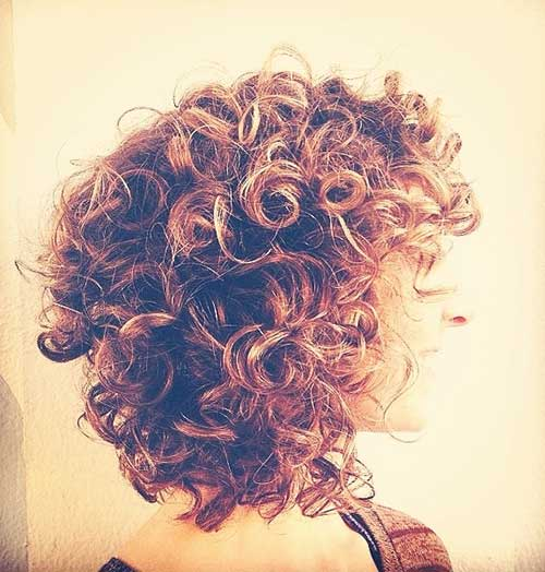 Short Perm Cuts for Curly Hair