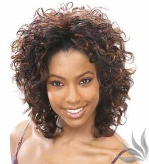 Black Short Cuts for Curly Hair