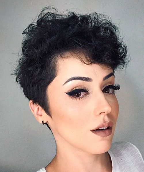 20 Great Short Fine Curly Hair For Women Short Haircuts