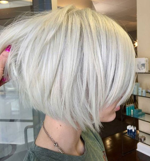 Short Haircuts for Blonde Hair