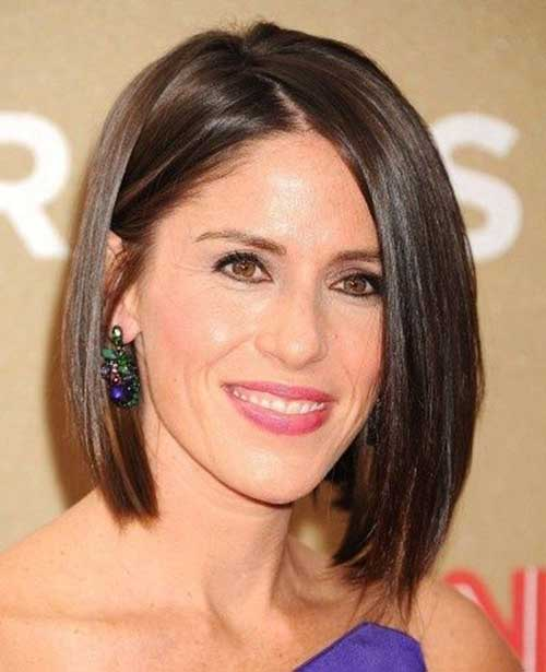 Short Hairstyles for Fine Straight Hair 2019