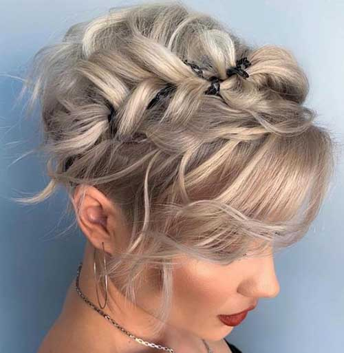 25 Chic Short Prom Hairstyles for the Best View - Short Haircuts
