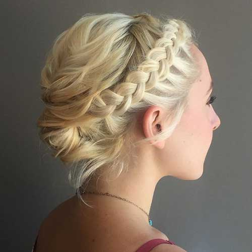 formal Updos for Short Hair