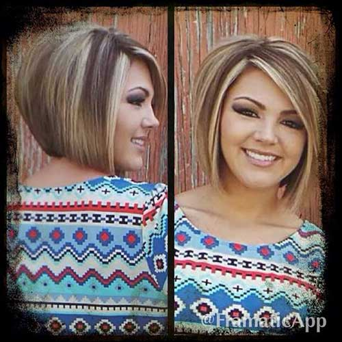 Short Blonde Highlighted Hair 2019-10
