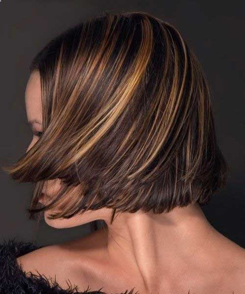 Short Highlighted Hair 2019-12