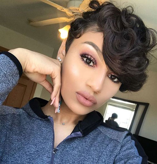 30 Short Quick Weave Hairstyles For Chic Black Women Short Haircuts