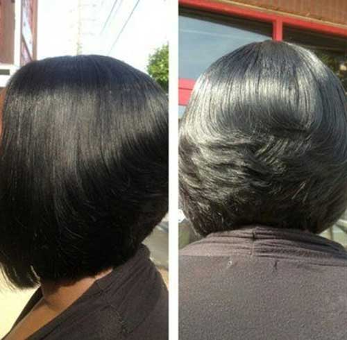 Short Weave Hairstyles for Black Women-13