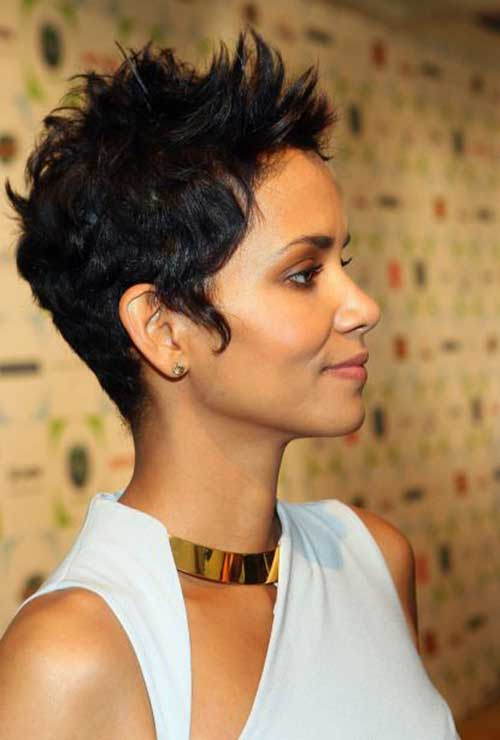 Short Weave Hairstyles for Black Women-18