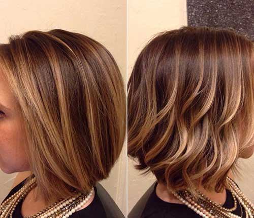 Short Highlighted Hair 2019-21