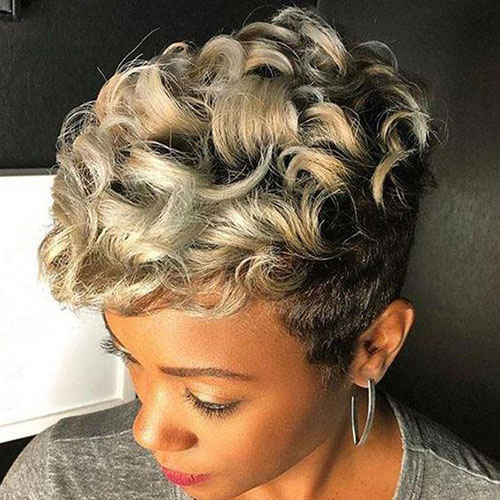 Short Weave Hairstyles for Black Women-25