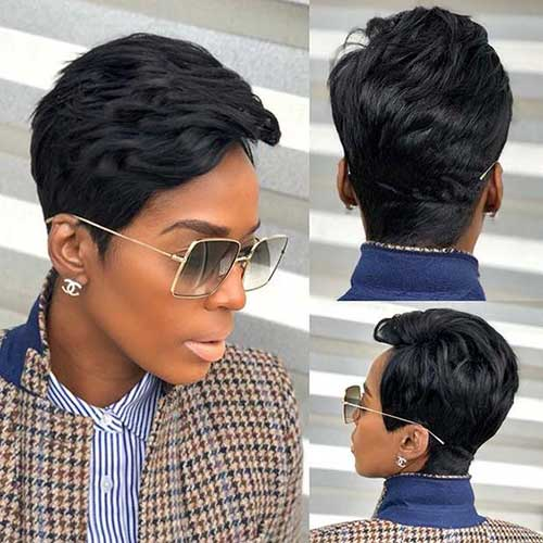 Short Weave Hairstyles for Black Women-30