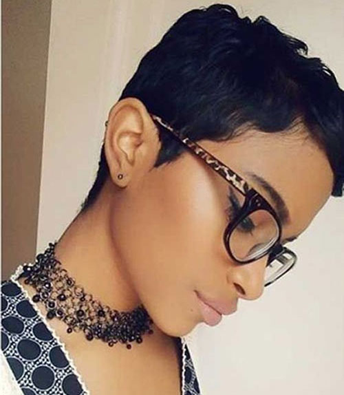 Short Weave Hairstyles for Black Women-7