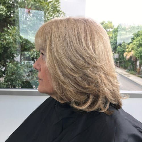 Shoulder Length Short Layered Hair-10