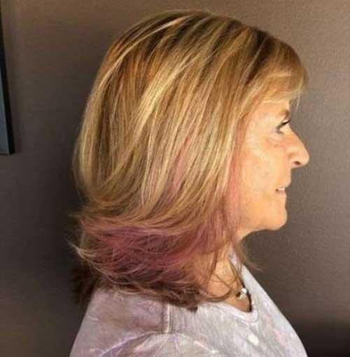Shoulder Length Short Layered Hair-11