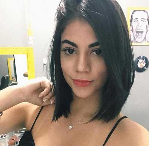 20 Swanky Short Dark Brown Hair Looks Short Haircuts
