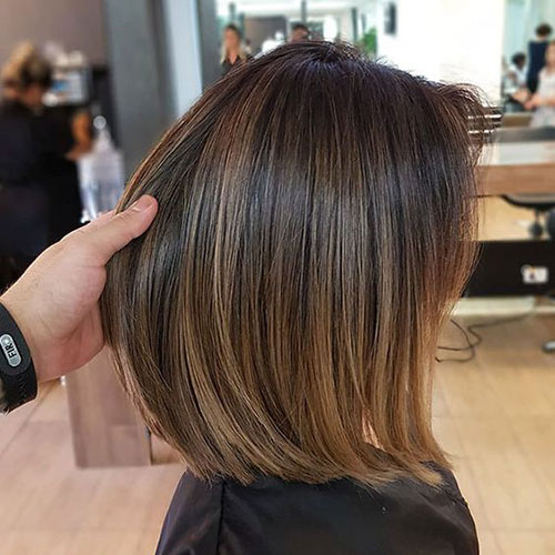 Short Caramel Brown Hair-13