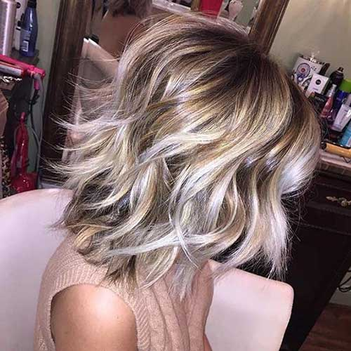 Shoulder Length Short Layered Hair-14