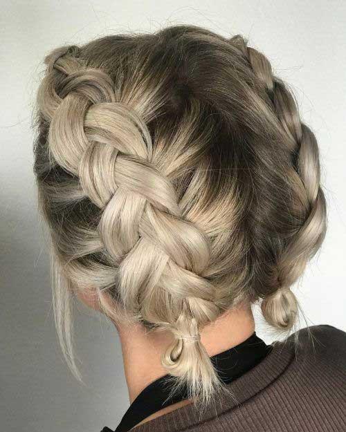 Easy Braids for Short Hair-15