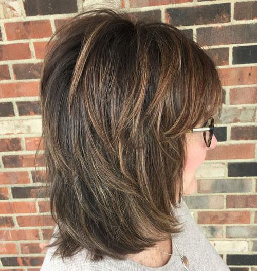 Shoulder Length Short Layered Hair-17