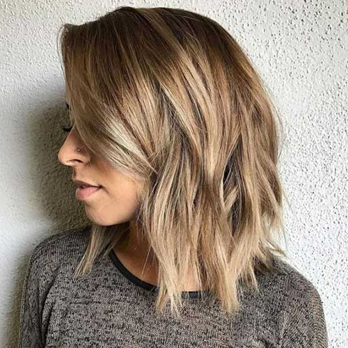 Shoulder Length Short Layered Hair-18