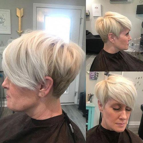 Short White Hair-19