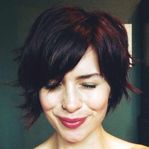 Short Brown Hair-21