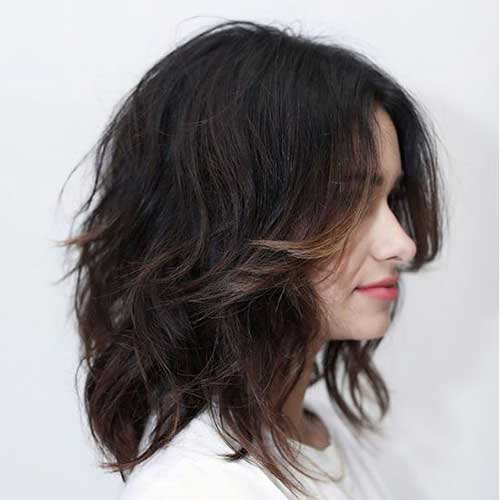 Shoulder Length Short Layered Hair-21