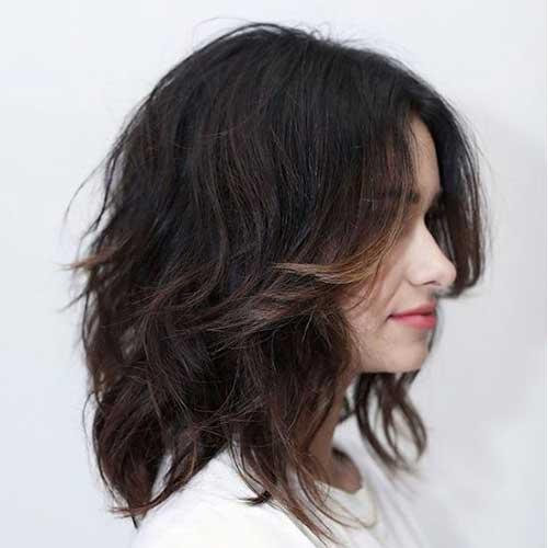 Shoulder Length Short Layered Hair-21
