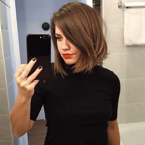 Shoulder Length Short Layered Hair-23