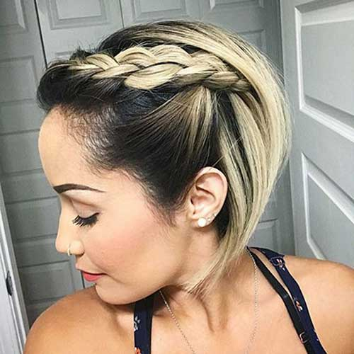 Easy Braids for Short Hair-6