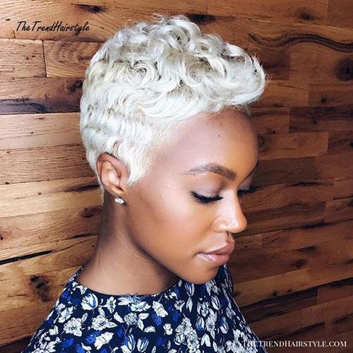 Cute Short White Hair-6
