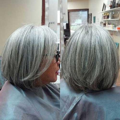 White Bob Hair-7