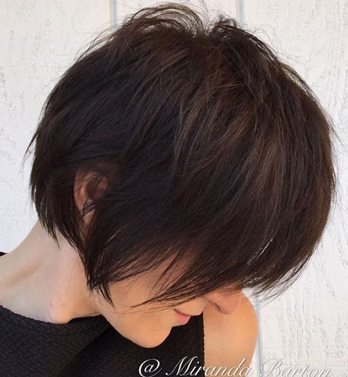 Short Bobbrown Hair-7