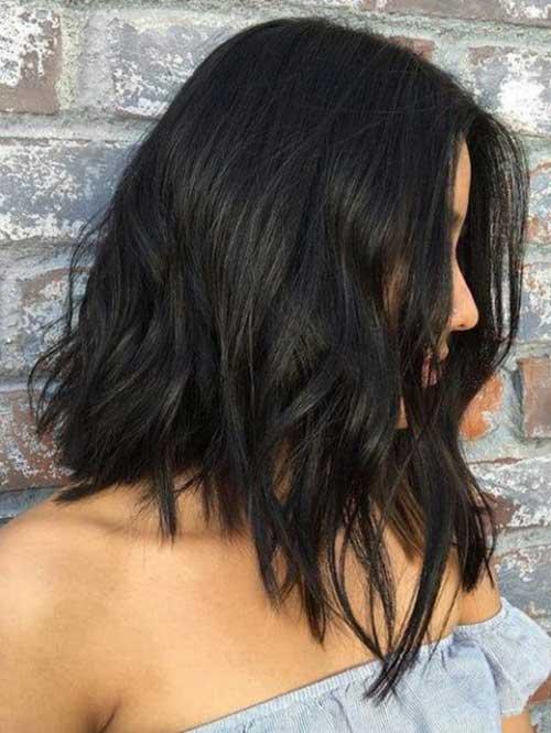Inverted Short Brown Hair-9
