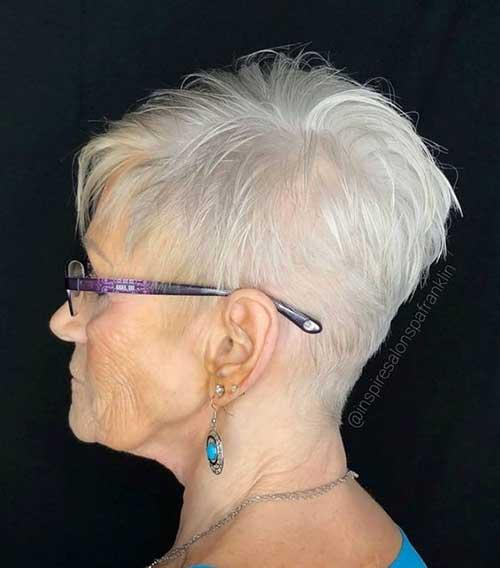 Short White Hair-9