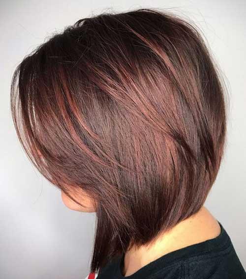 Layered Short Medium Hair