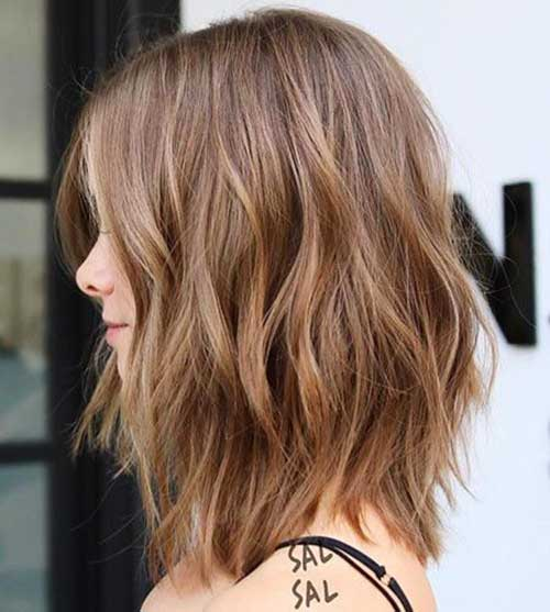 Short Medium Layered Haircuts