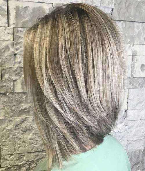 Shoulder Length Bob Hairstyles with Layers