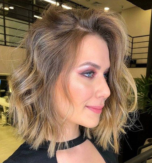 Shoulder Length Short Layered Hair