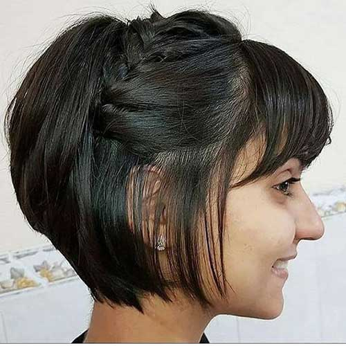 Simple Party Hairstyles for Short Hair-15