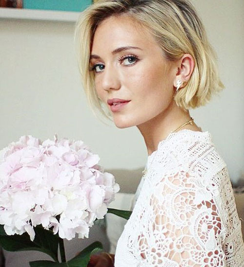 Cute Short Blonde Haircuts-16